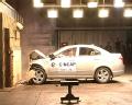 [碰撞视频]2011款海马福美来 正面碰撞视频