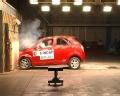 [碰撞视频]2011款一汽威志V2 正面碰撞视频