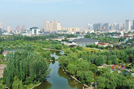 城市v城市公园一瞥记者.超市张宇明摄燕西台北京别墅景观的周围图片