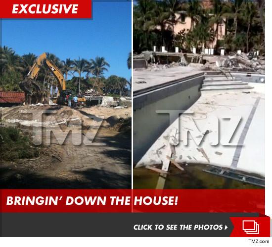 1200万美元别墅被拆毁