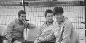 里卡多(左一)上赛季就跟随实德训练,融入球队不存在磨合期。图片据实德官网