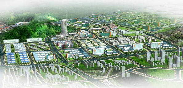 金山科技工业园规划图