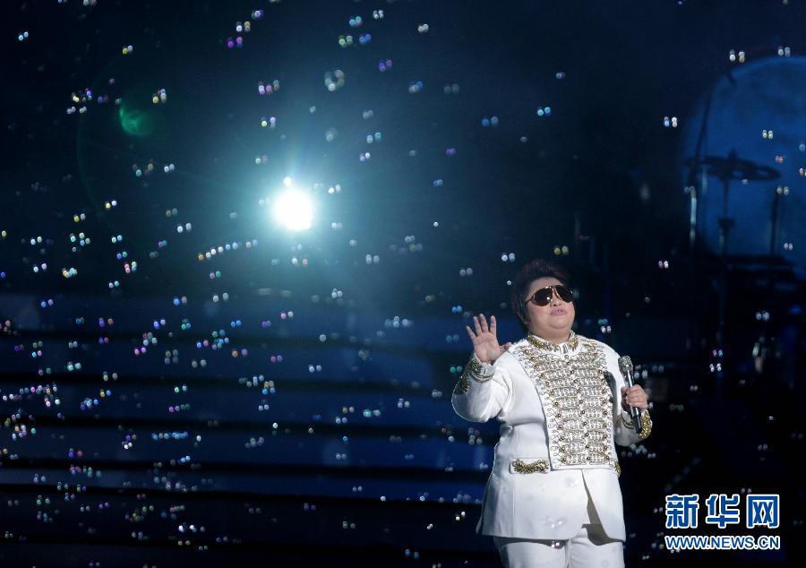"""韩红""""美丽世界""""世界巡回演唱会北京站举行(组图)图片"""