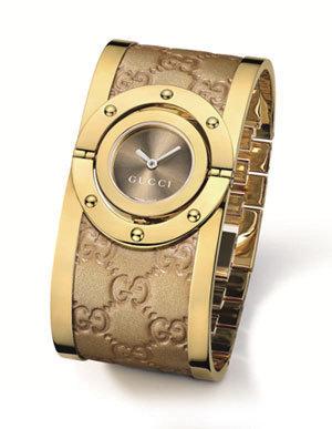 GUCCI推出的新款Twirl系列手表