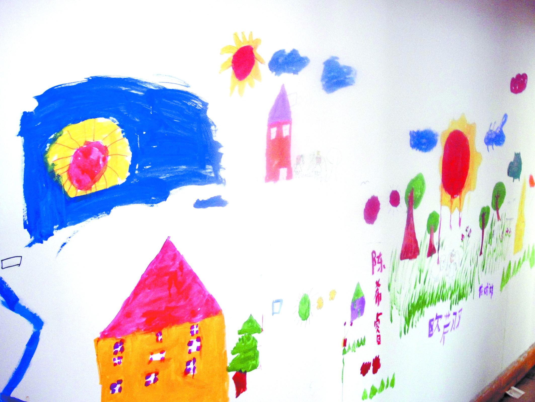 """画壁:想象""""装扮""""新年愿望(组图)图片"""