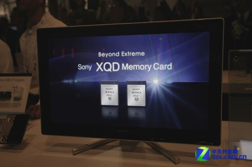 CF卡末日临近 索尼CES展示XQD存储卡