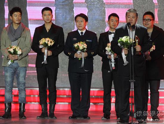 《番号》获得最佳电视剧、最佳导演、最佳男主及男配四项荣誉