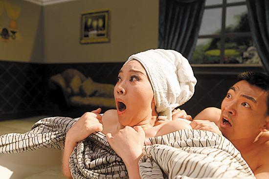 闫妮拍出浴戏一段笑点十足