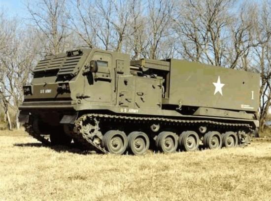 火箭炮:美国m270式227毫米火箭炮(1)(组图)图片