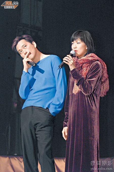 蔡枫华事业滑落,好友卢敏仪一直支持他重新振作。