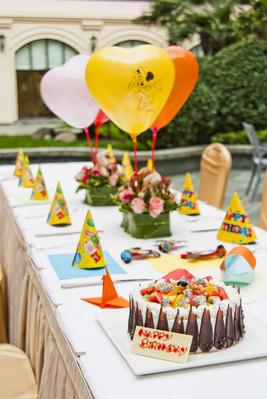 儿童生日庆祝套餐
