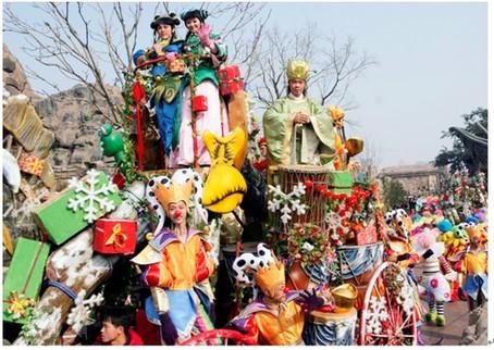 有传统龙飞龙舞龙文化