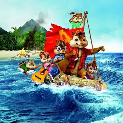 在《鼠来宝》的第三部电影中,三只花栗鼠和在电影上集中所登场的德勒兹电影图片