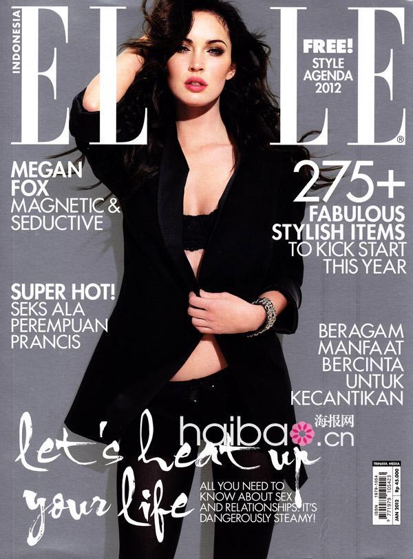 """欧美时尚杂志""""娇点美图串烧"""",2012年2月刊封面明星连连看图片"""