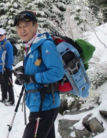 金永春是一名很有经验的登山者