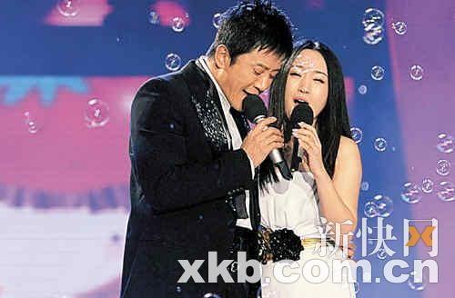 杨钰莹与 毛宁 亮相湖南卫视春晚