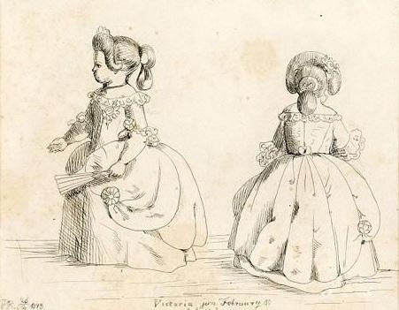 6张曾被维多利亚女王申请禁令的生活速写图将在英国