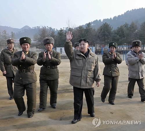 朝中社19日报道说,朝鲜劳动党中央军事委员会副委员长金正恩对人民军第169军部队进行了视察。
