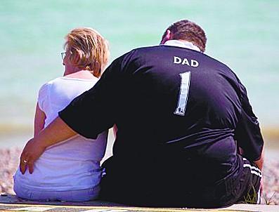 胖爸爸容易生出胖孩子
