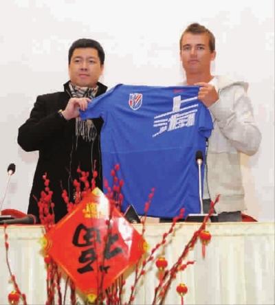 申花昨与乔尔正式签下一年合同