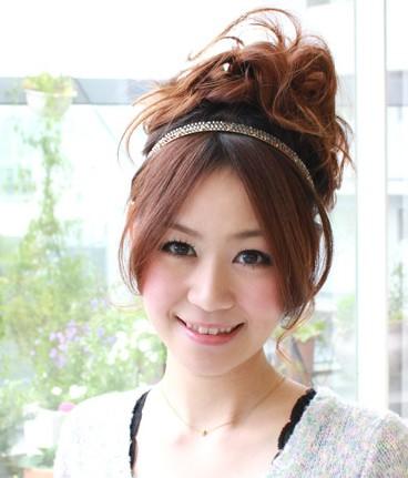 小心思小技巧 日本女生的新年发型(组图)图片