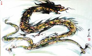 第一个自命真龙天子的人,是汉高祖刘邦.