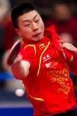 图文:[乒乓球]2012匈牙利赛 马龙帅气