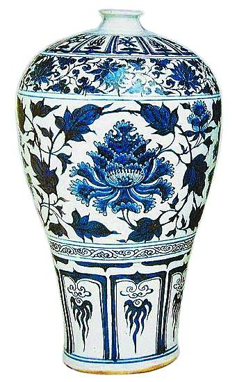 土耳其托普卡比博物馆收藏的元代青花瓷