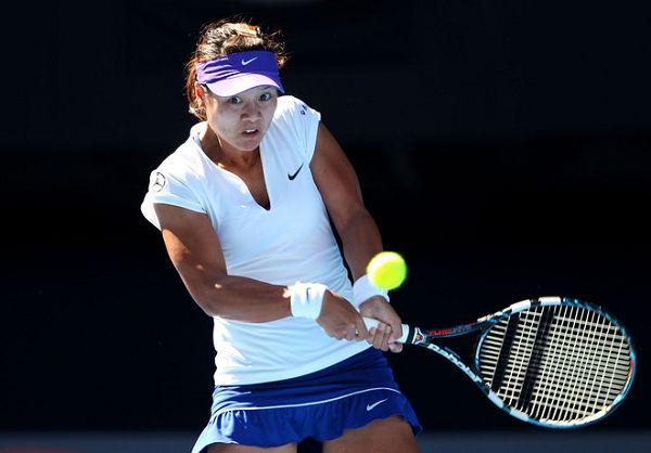 澳网1/8决赛-李娜连丢4赛点遭小克逆转
