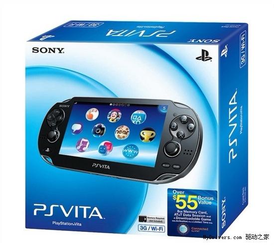 索尼PS Vita北美首发特别版