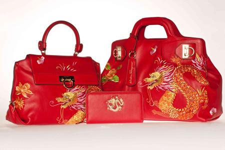 Ferragamo限量版'龙年'经典系列手袋