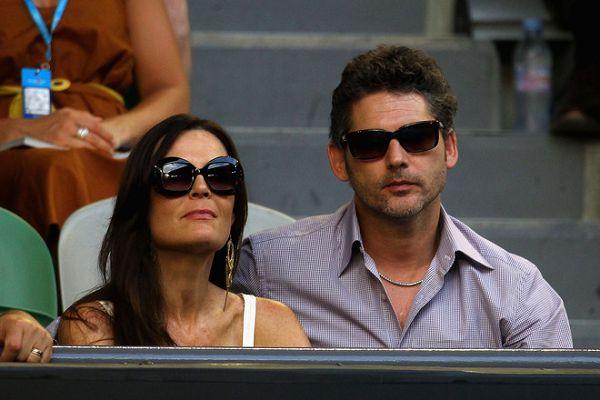 艾瑞克-巴纳和妻子观战 -小德女友惊艳看台 纳达尔裸身擦汗秀身材高清图片