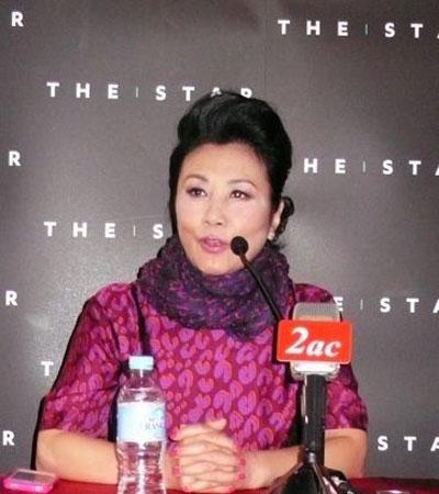 北京时间1月29日晚,香港女星汪明荃在微博中晒出一张年轻时的清纯