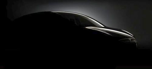 【特斯拉Model X跨界车预告图】