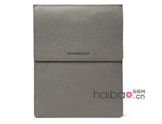 Burberry London皮质斜纹iPad保护套
