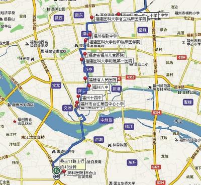 11路公交车部分线路图