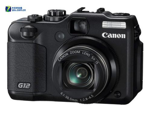 图为:佳能PowerShot G12数码相机