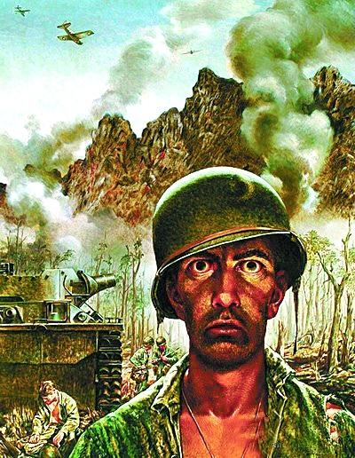 美国大兵卡通图