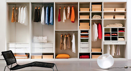 打造完美实用衣柜; 衣帽间; 时尚整体衣柜