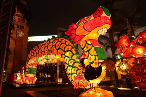 春节专题彩灯展