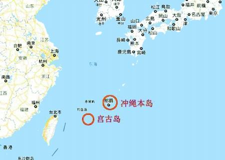 来自日本防卫省的消息称,4艘中国海军护卫舰于3日上午通过日本冲绳本