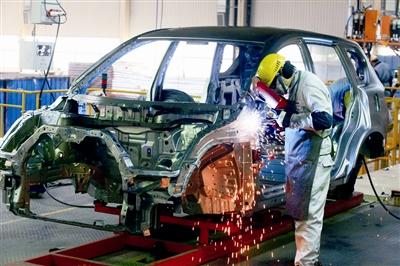 汽车企业生产线 IC图