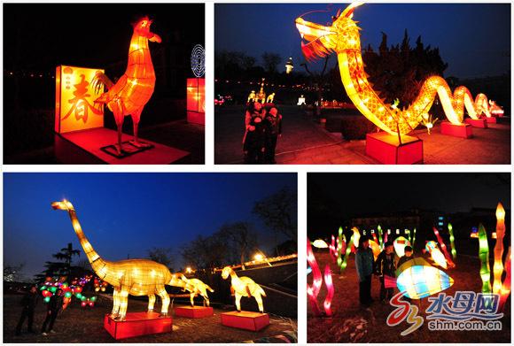 元宵节灯会在2月6日元宵节时迎来最高人流