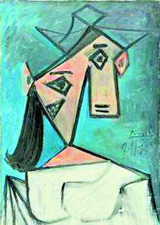 2012年失窃的毕加索的《女人头像》