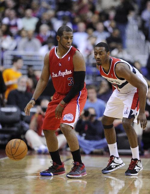 保罗/华盛顿,2012年2月5日(体育)(7)篮球——NBA常规赛:奇才负于...