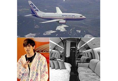 成龙2亿巴西购客机 明星私人飞机大比拼