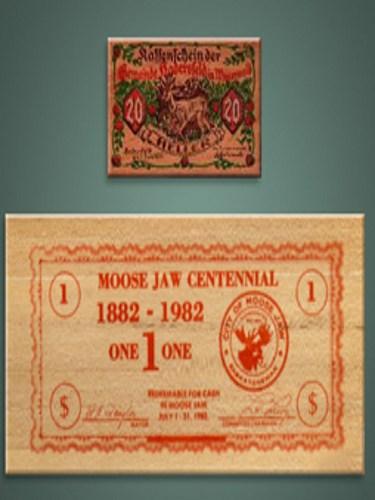 9、德国:木质钞票