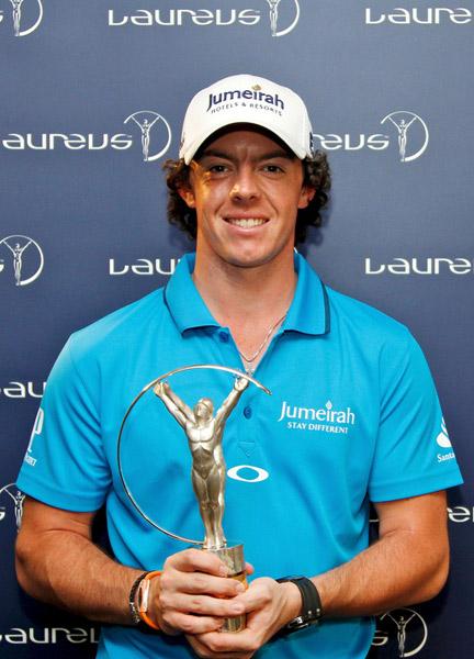03麦克罗伊-年度最佳突破奖(北爱尔兰 高尔夫)