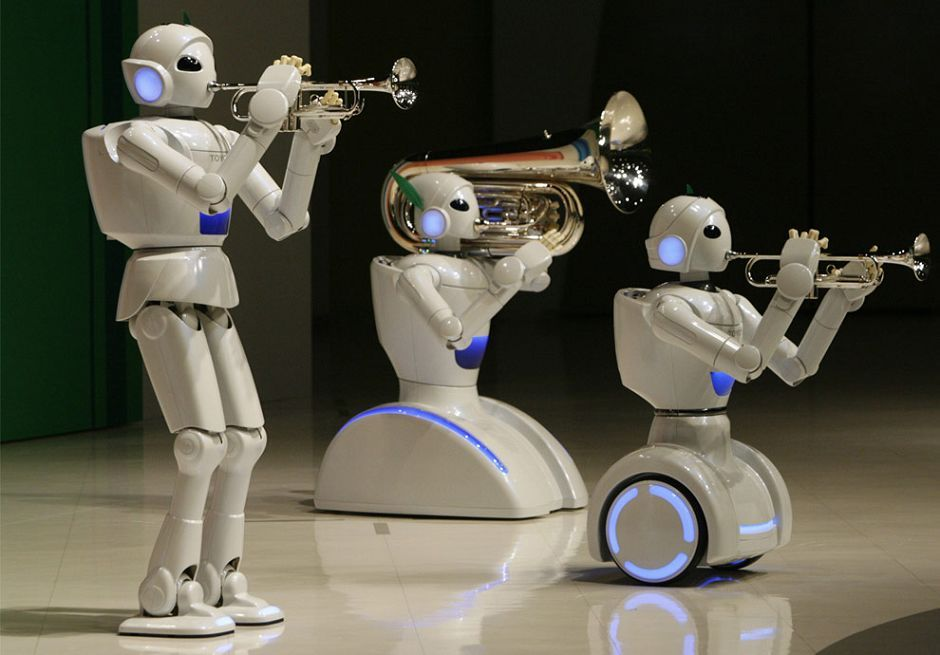 盘点全球那些最先进的机器人 组图