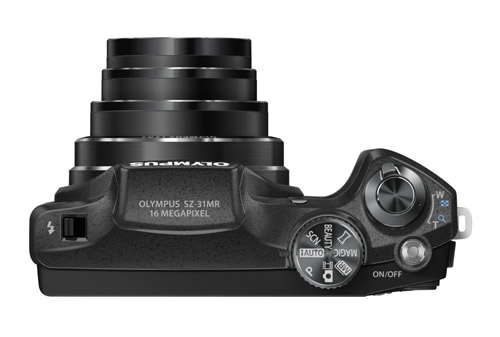 奥林巴斯发布SZ-31MR 1600万像素24X光变
